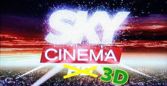 futuro tecnologico con Sky per film 3d