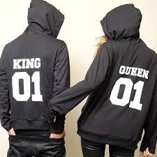 vendita felpe king e queen online